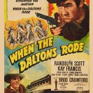 When The Daltons Rode (1940) - Randolph Scott  DVD