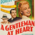 A Gentleman At Heart (1942) - Cesar Romero  DVD