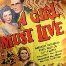 A Girl Must Live (1939) - Margaret Lockwood  DVD