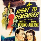 A Night To Remember (1942) - Loretta Young  DVD