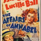 The Affairs Of Annabel (1938) - Lucille Ball  DVD