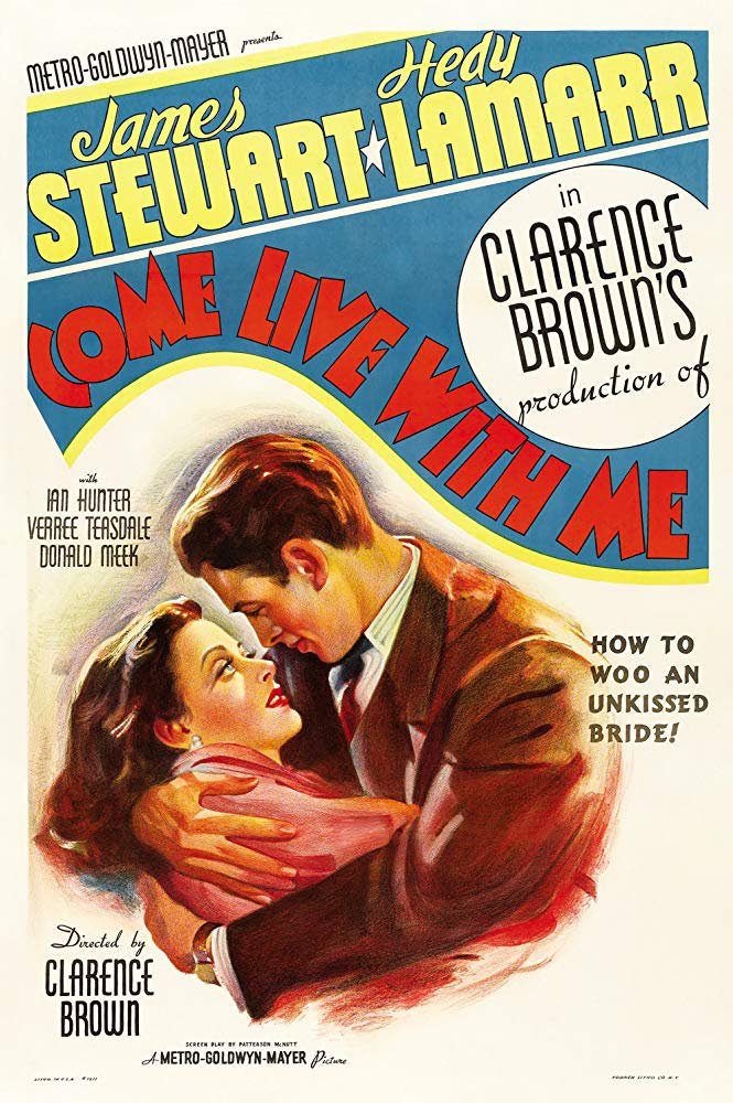 Come Live With Me (1941) - James Stewart  DVD
