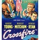 Crossfire (1947) - Robert Mitchum  DVD
