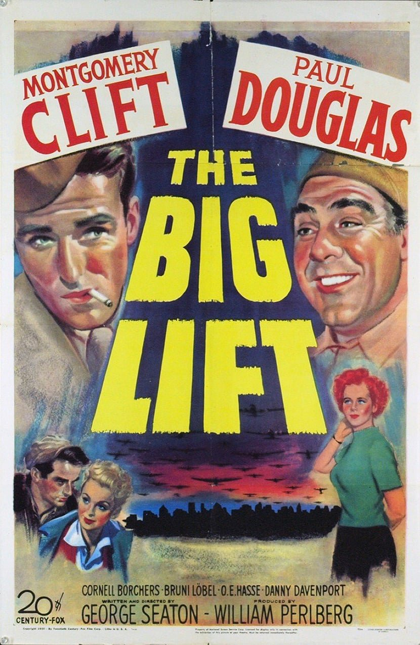 The Big Lift (1950) - Montgomery Clift  DVD