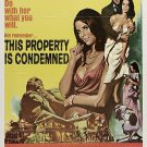 This Property Is Condemned (1966) - Robert Redford   DVD