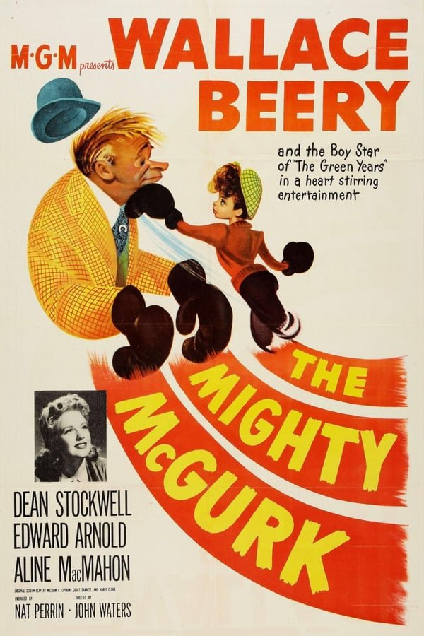 The Mighty McGurk (1947) - Wallace Beery  DVD