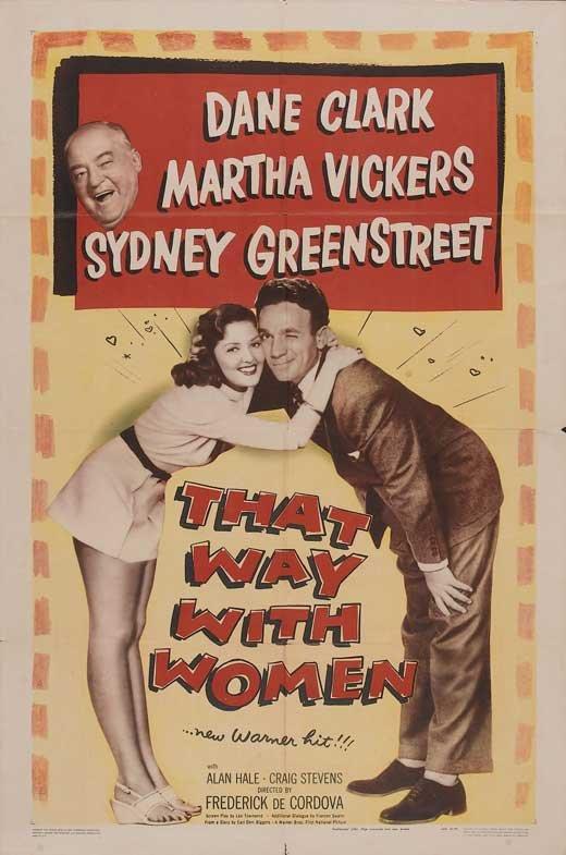 That Way With Women (1947) - Dane Clark  DVD