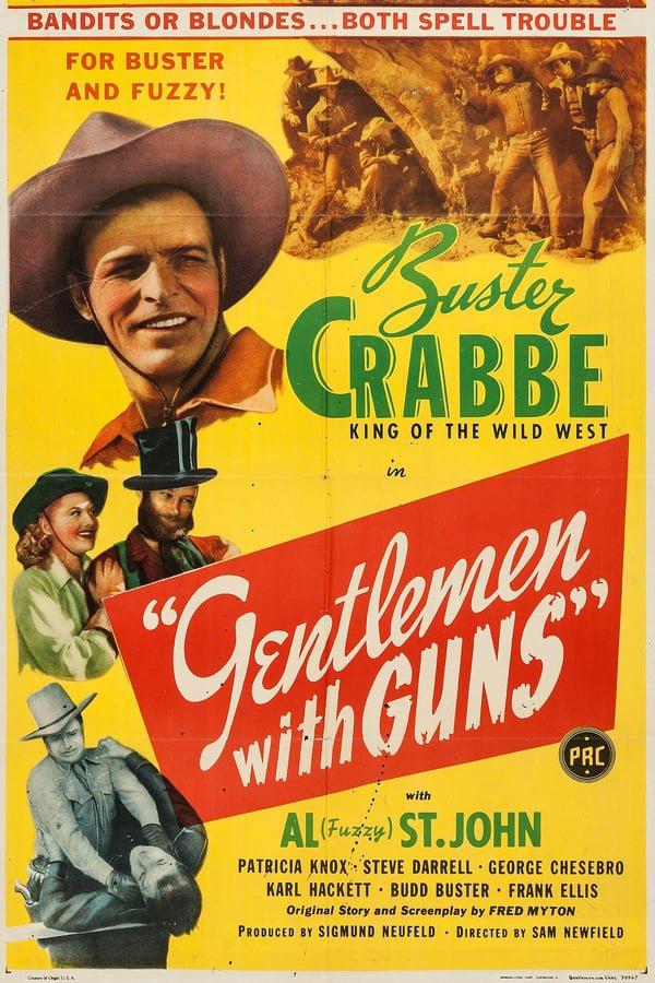 Gentlemen With Guns (1946) - Buster Crabbe  DVD