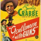 Gentlemen With Guns (1946) - Buster Crabbe  DVD