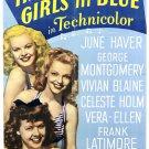 Three Little Girls In Blue (1946) - George Montgomery  DVD