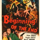 Beginning Of The End (1957) - Peter Graves  DVD