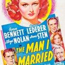 The Man I Married (1940) - Joan Bennett  DVD