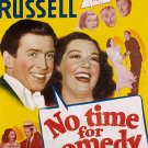 No Time For Comedy (1940) - James Stewart  DVD