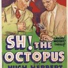 Sh ! The Octopus (1937) - Hugh Herbert  DVD