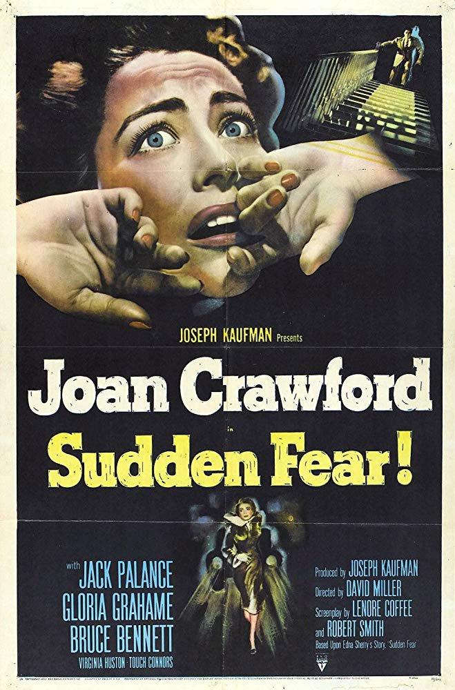 Sudden Fear (1952) - Joan Crawford  DVD