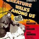The Creature Walks Among Us (1956) - Jeff Morrow  DVD