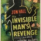 The Invisible Man´s Revenge (1944) - Jon Hall  DVD