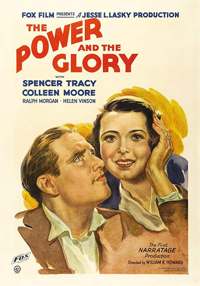 The Power And The Glory (1933) - Spencer Tracy  DVD