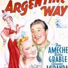 Down Argentine Way (1940) - Betty Grable  DVD