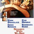 Strangers When We Meet (1960) - Kirk Douglas  DVD