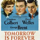 Tomorrow Is Forever (1946) - Claudette Colbert  DVD