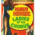 Ladies Of The Chorus (1948) - Marilyn Monroe  DVD