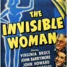 The Invisible Woman (1940) - Virginia Bruce  DVD