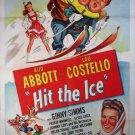 Hit The Ice (1943) - Abbott & Costello  DVD
