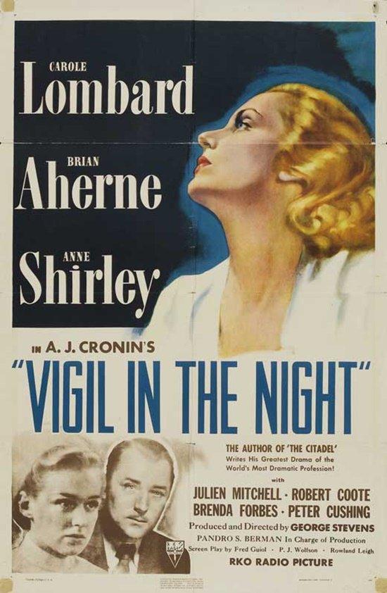 Vigil In The Night (1940) - Carole Lombard  DVD