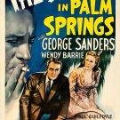 The Saint In Palm Springs (1941) - George Sanders  DVD