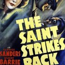 The Saint Strikes Back (1939) - George Sanders  DVD