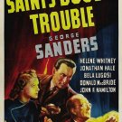 The Saint´s Double Trouble (1940) - George Sanders  DVD
