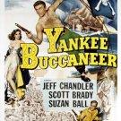 Yankee Buccaneer (1952) - Jeff Chandler  DVD