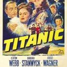 Titanic (1953) - Barbara Stanwyck  DVD