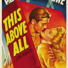This Above All (1942) - Tyrone Power  DVD