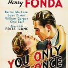 You Only Live Once (1937) - Henry Fonda  DVD