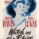 Watch On The Rhine (1943) - Bette Davis  DVD