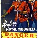 Danger Ahead (1940) - James Newill  DVD