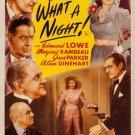 Oh, What A Night (1944) - Edmund Lowe  DVD