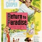 Return To Paradise (1953) - Gary Cooper  DVD
