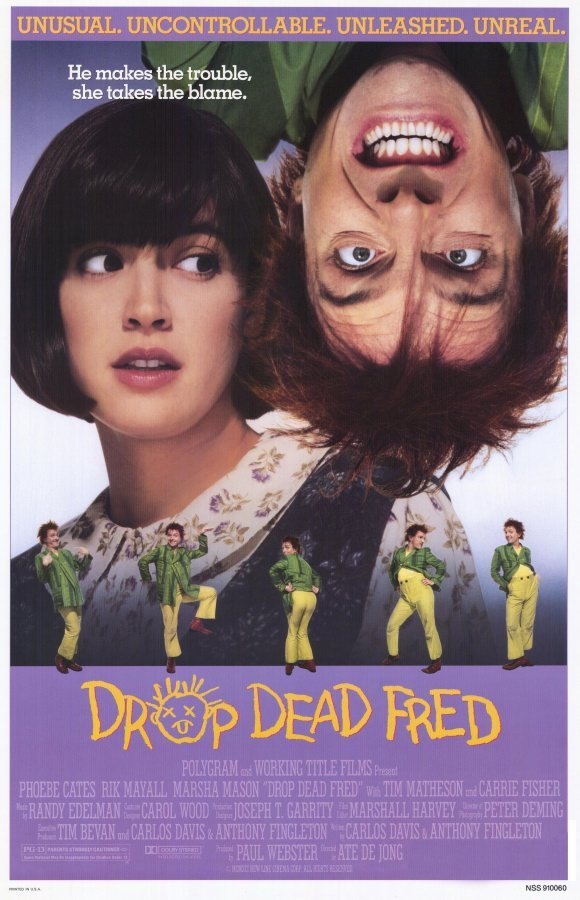 Drop Dead Fred (1991) - Phoebe Cates  DVD