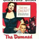 The Damned Don´t Cry (1950) - Joan Crawford  DVD