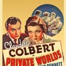 Private Worlds (1935) - Claudette Colbert  DVD