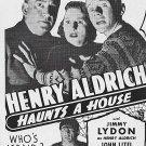 Henry Aldrich Haunts A House (1943) - Jimmy Lydon  DVD
