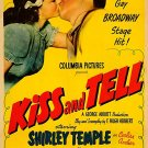 Kiss And Tell (1945) - Shirley Temple  DVD