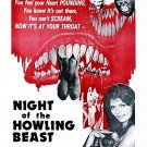 Night Of The Howling Beast (1975) - Paul Naschy  DVD