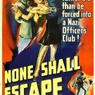 None Shall Escape (1944) - Marsha Hunt  DVD