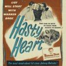 Hasty Heart (1949) - Ronald Reagan  DVD