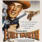 Fort Worth (1951) - Randolph Scott  DVD