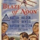 Blaze Of Noon (1947) - William Holden  DVD